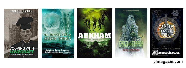 Libros imprescindibles de Lovecraft. El Magacín.