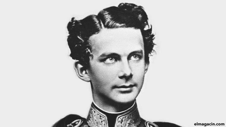 Luis II de Baviera, el Rey Loco. Los reyes más locos de la historia.