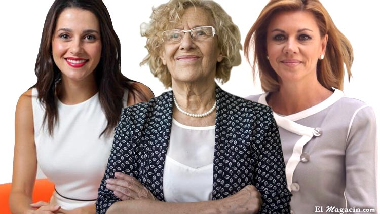 Así visten nuestras políticas. Inés Arrimadas, Soraya Sáez de Santamaría, Ada Colau, Manuela Carmena, Susana Díaz.