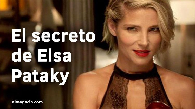 Antes y después de Elsa Pataky. Operaciones.Elsa Pataky en ropa interior. El Magacín.
