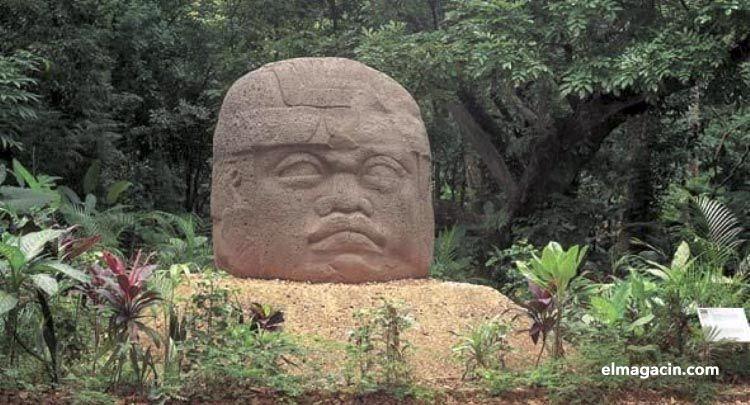 Escultura olmeca. El Magacín.