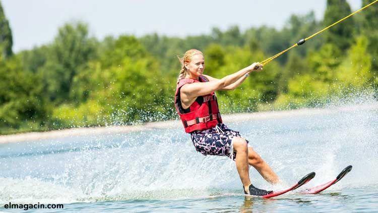 Deportes acuáticos. Esquí acuático