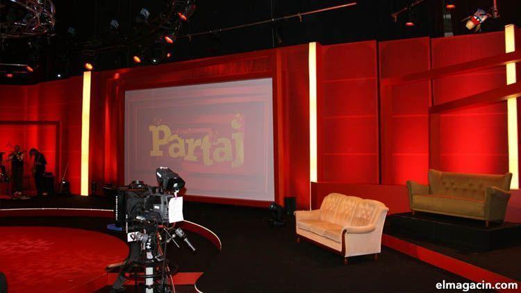 Plató de televisión español