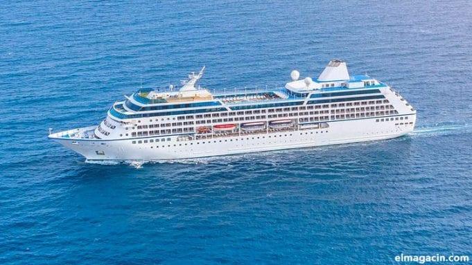 Ferry a las islas Canarias