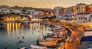 Ferry Barcelona Menorca. Puerto de Mahón