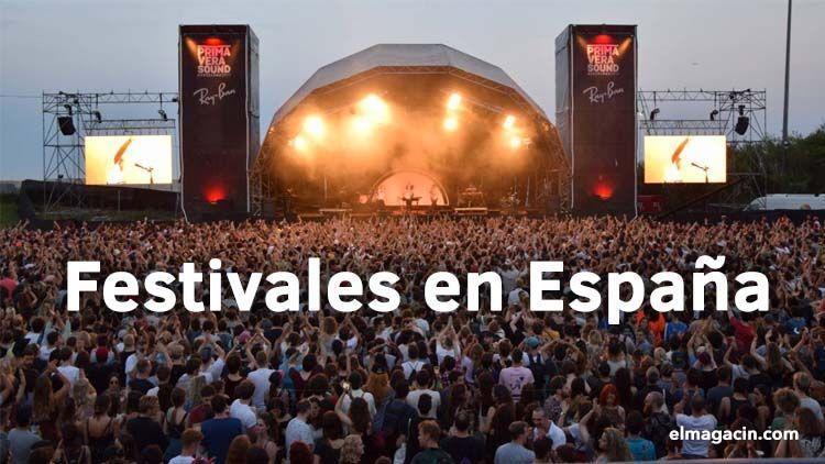 Festivales en España. El Magacín.