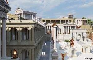 Cómo era la Antigua Roma sobre el mapa. El Foro Romano