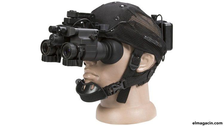 Gafas de visión nocturna y tecnología térmica de última generación.