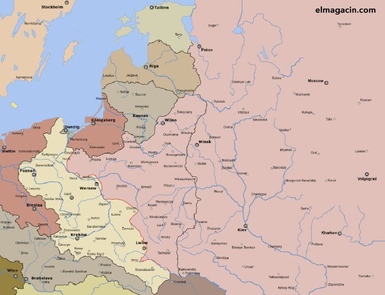 Guerra polaco-societica. El Magacín.