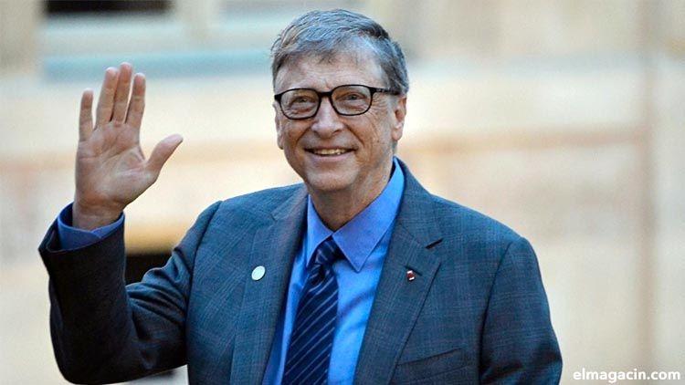Hombre más rico del mundo. Bill Gates
