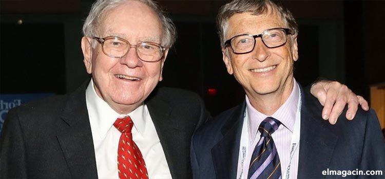 Hombres más ricos del mundo: Warren Buffett y Bill Gates