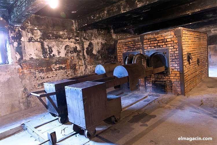 Hornos crematorios de Auschwitz-Birkenau. El Magacín.