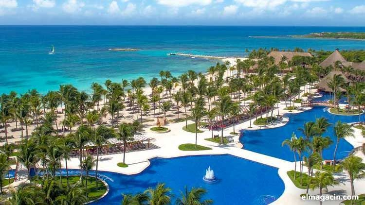 Tour por la Riviera Maya. Uno de los hoteles de la Riviera Maya.