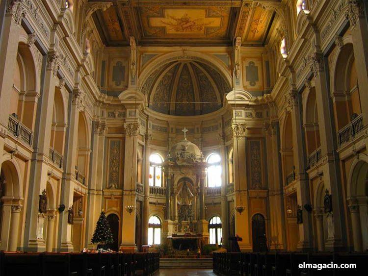 Iglesia de la Divina Providencia en Santiago de Chile. El Magacín.