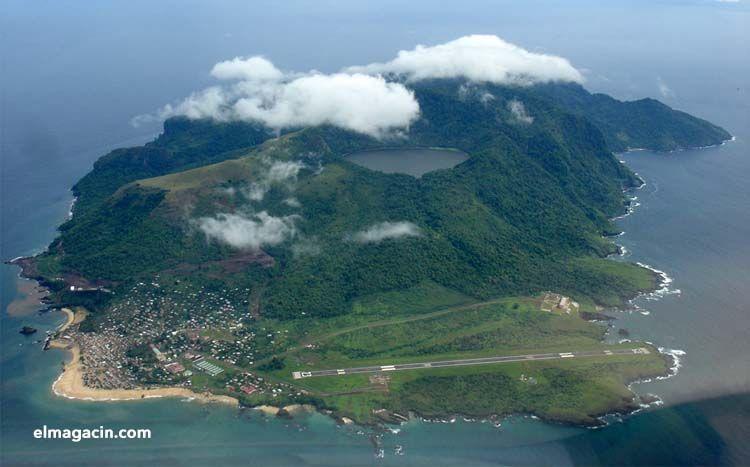 Isla de Annobón. El Magacín.
