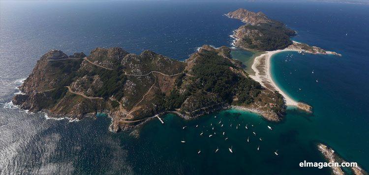 Islas Cíes de Vigo. El Magacín.
