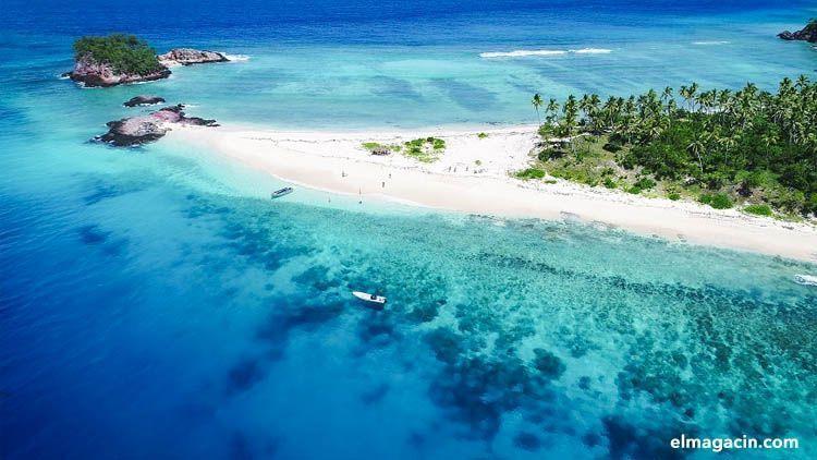 Playa de ls islas Fiji. El Magacín.