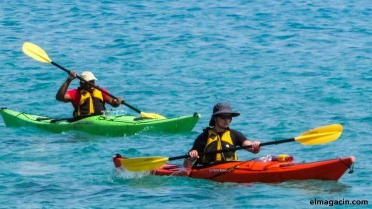Deportes acuáticos. Kayak.