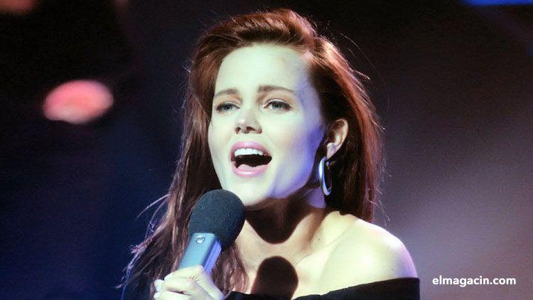 La guapa cantante californiana Belinda Carlisle. El Magacín.