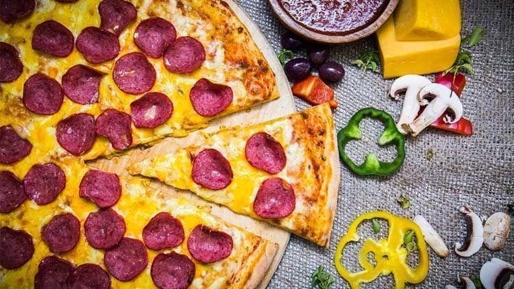 La pizza como alimento saludable. El Magacín.