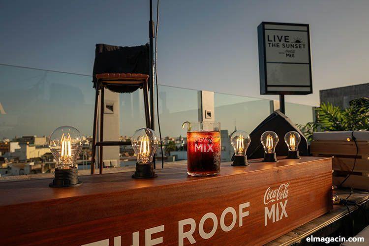 Live the roof- Coca-Cola. El Magacín.