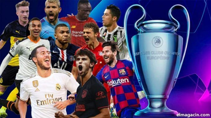 Los mejores jugadores de la Champions League en 2020