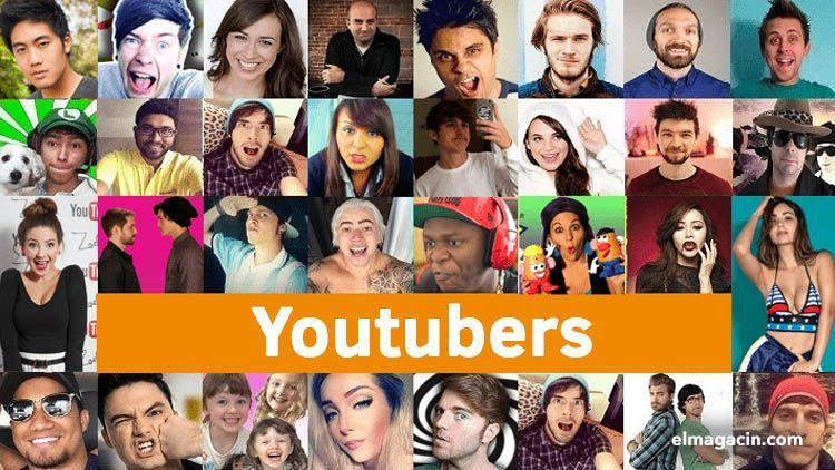 Los mejores youtubers del mundo. El Magacín.