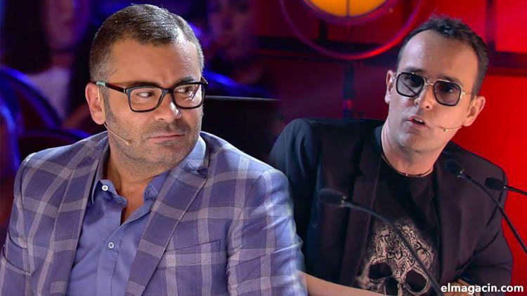 Los presentadores Jorge Javier Vázquez y Risto Mejide en una pelea en directo