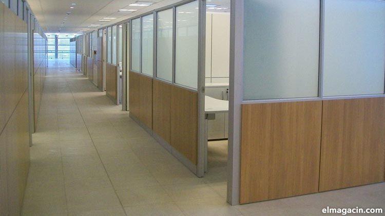 Mamparas de oficina. Reformas de oficina sin obras