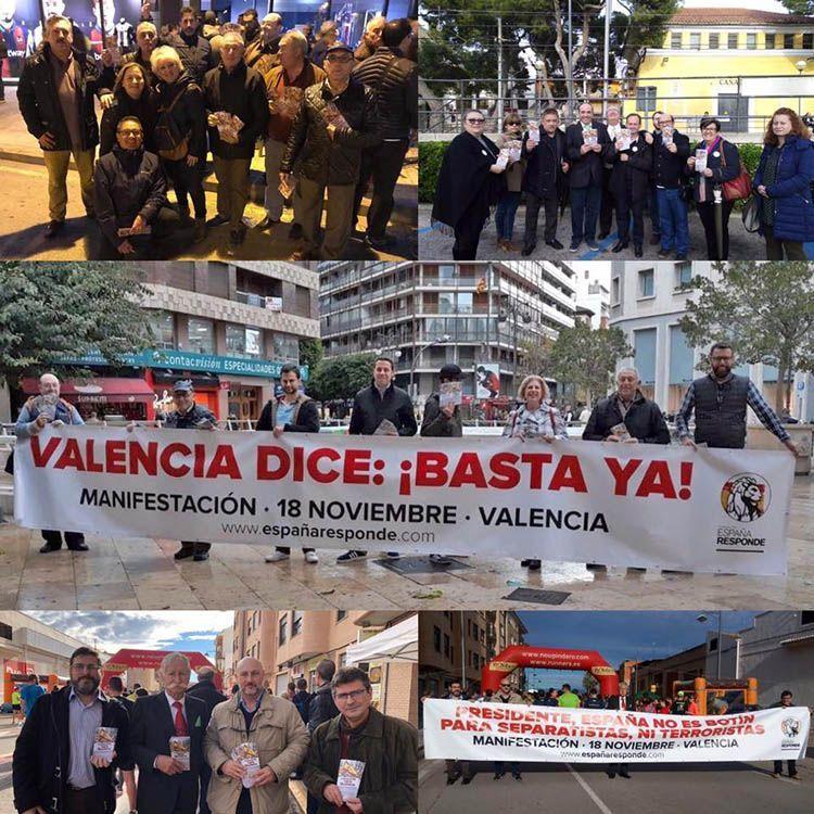 Voluntarios de España Responde en Valencia. El Magacín