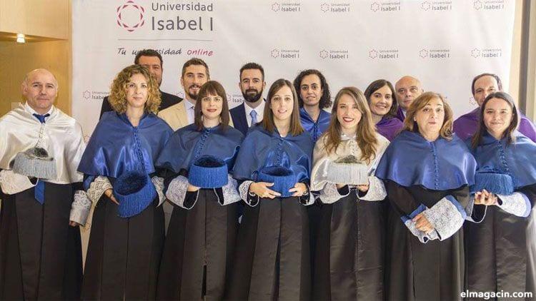 Máster en la Universidad Isabel I de Burgos. grado en prevención y seguridad integral online