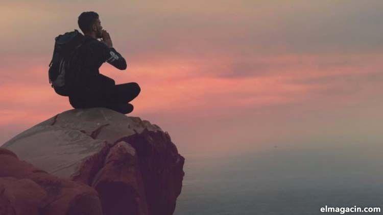 Meditación en la montaña. El Magacín.