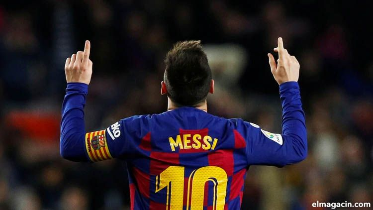 Lionel Messi, junto con Maradona, el mejor jugador argentino de todos los tiempos