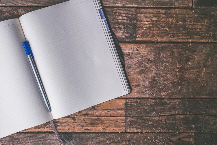 Hay que llevar un diario para no perder el control.