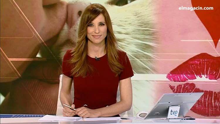 Presentadora de TVE Olga Lambea.