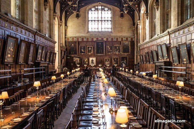 Salón comedor de Oxford en Inglaterra. El Magacín.