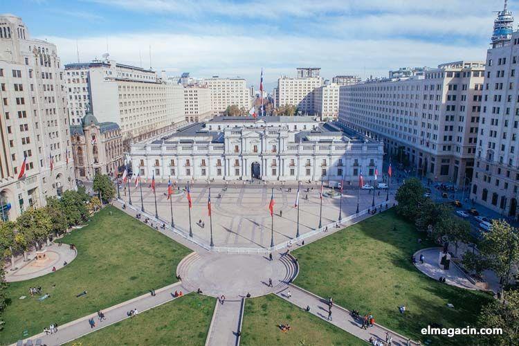 Palacio de la Moneda. Santiago de Chile. El Magacín.