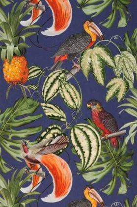 Papel pintado con animales (aves)