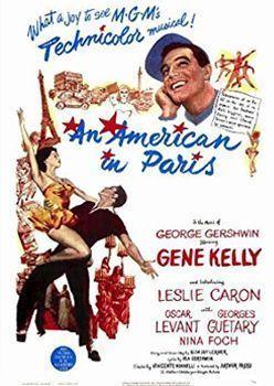Un americano en París. Cine francés