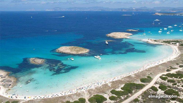 Playa de Ses Illetes. Formentera. El Magacín.