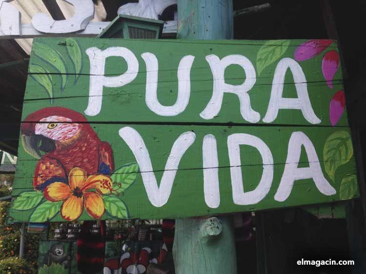 Pura vida en Costa Rica. El Magacín.