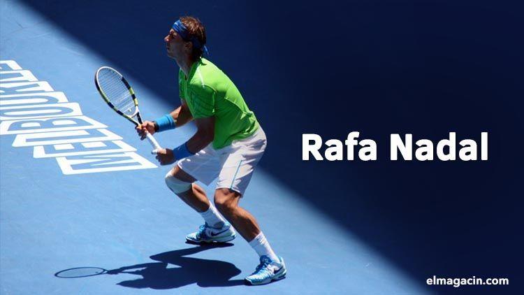 Rafa Nadal en Roland Garros. Deportes El Magacín.