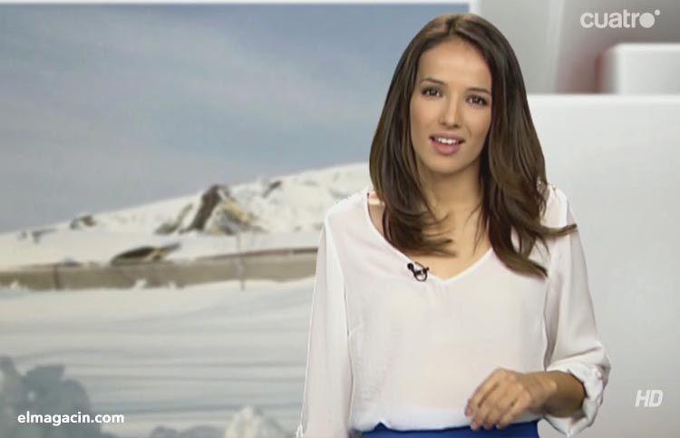 Rebeca Haro la presentadora de Ibiza.