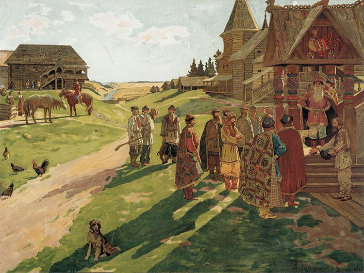 El origen de la historia de Rusia nace en el Rus de Kiev