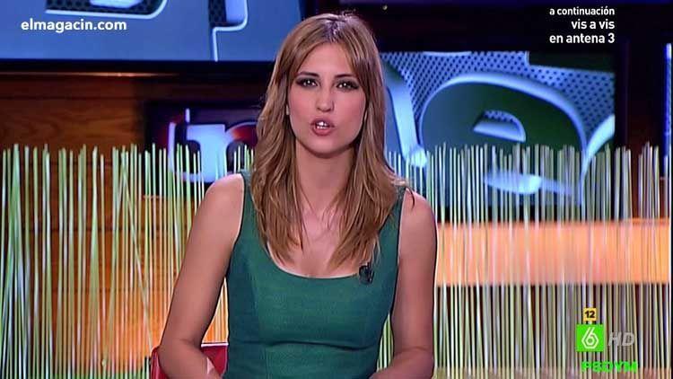 Presentadoras españolas. Sandra Sabatés una belleza de presentadora