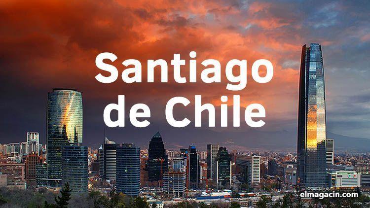 Santiago de Chile. Lugares de interés turístico. Hoteles baratos. El Magacín.