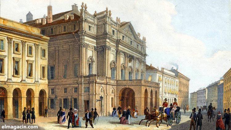 Scala de Milan. El Magacín.