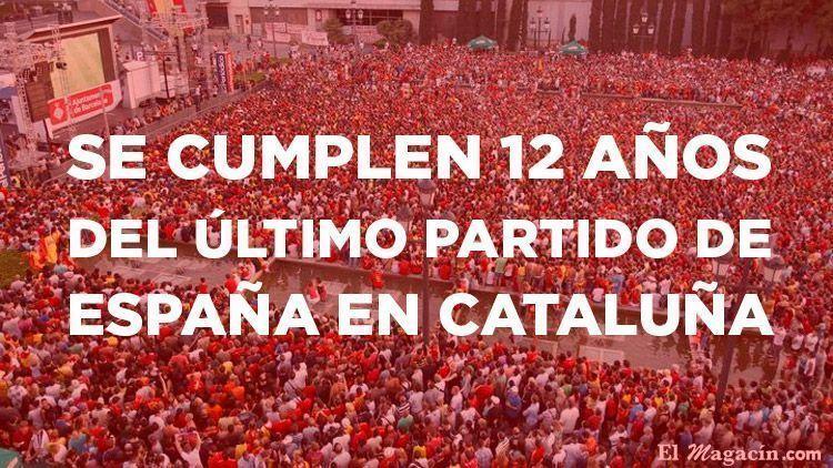 Selección Española en Barcelona