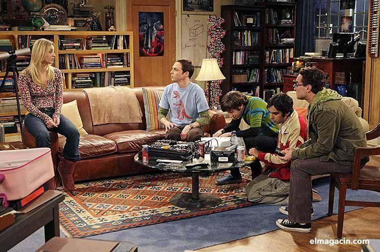 El sofá de The Big Bang Theory.