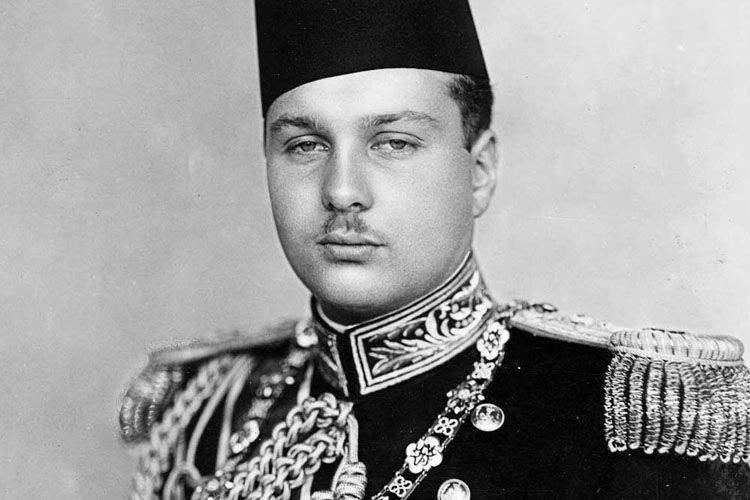Sultán Faruk de Egipto. Los reyes más locos de la historia.